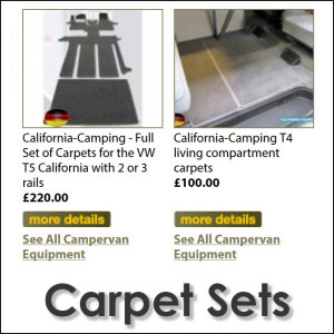 VW California Carpets