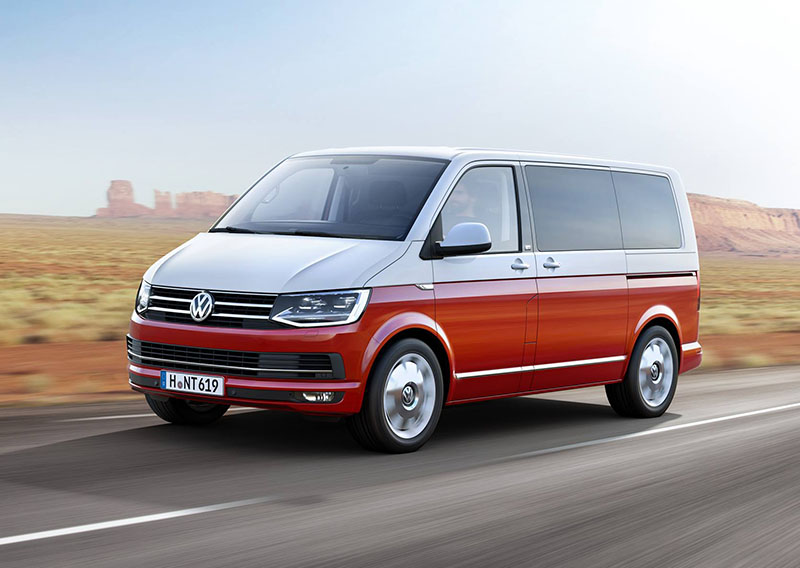 The VW T6 Transporter Has Arrived!