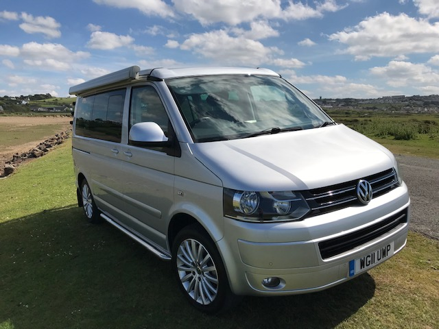 VW California 180 bhp manual with over £9k of options