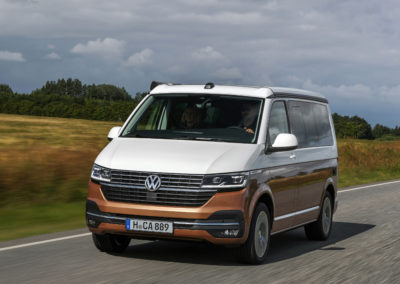 Driving the VW California