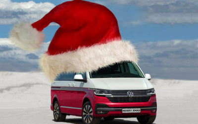 The VW California Christmas Stocking