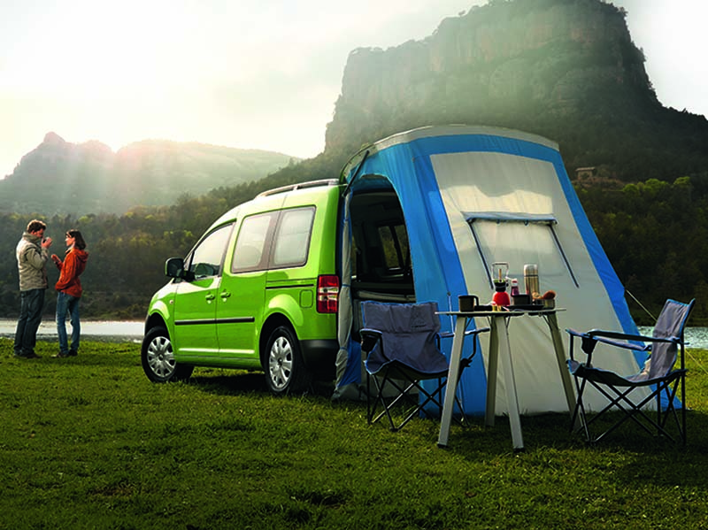 The new Caddy Camper