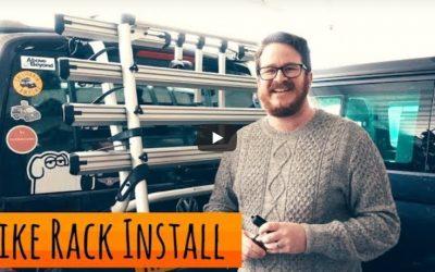 Installing a Bike Rack