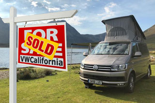 Selling a VW California Campervan