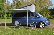 USED VW T5 T6 California SE, Ocean and Beach Original Sun Canopy in Silver Box